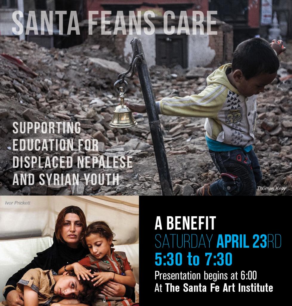 Santa Fean Care Invite