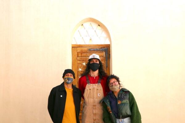 Christian, Diego, Alicia at Dar al Islam