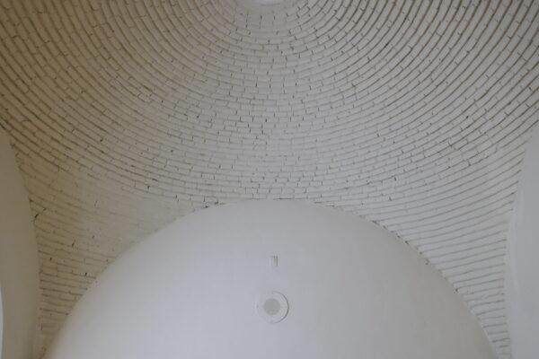 Exposed pendentive at Dar al Islam