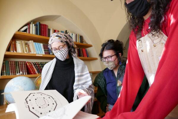 Library at Dar al Islam