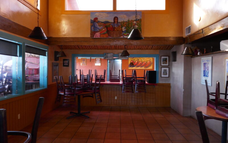 Like most New Mexico businesses, Cafe Castro remained closed as a result of the latest COVID-19 lockdown.